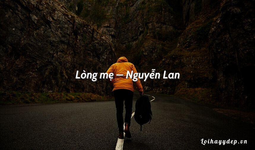 Lòng mẹ – Nguyễn Lan