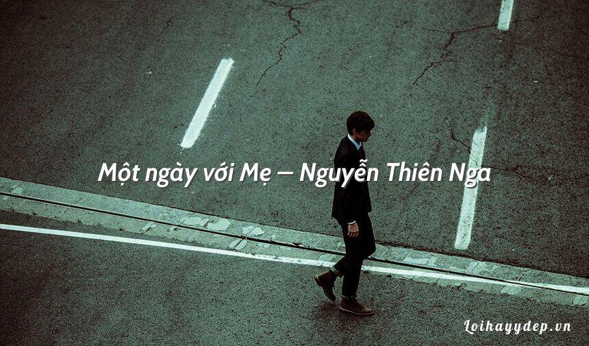 Một ngày với Mẹ – Nguyễn Thiên Nga