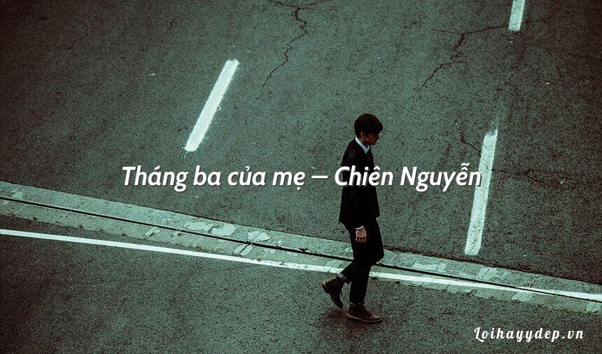 Tháng ba của mẹ – Chiên Nguyễn