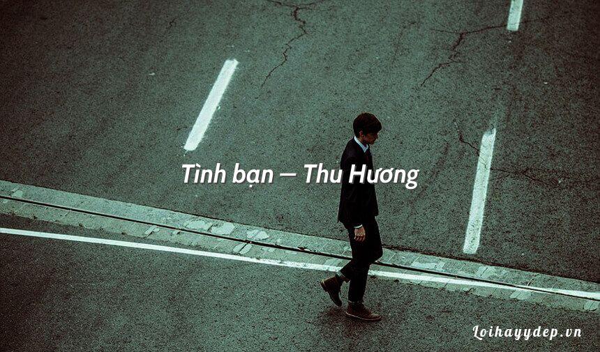 Tình bạn – Thu Hương